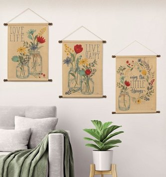 Blooming Thoughts Hanging Banner (3 Styles)