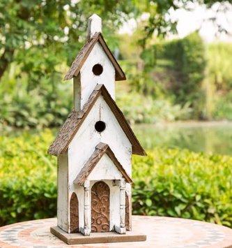 3 Tiered Chapel Birdhouse