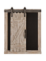Farmhouse Chalkboard w/ Rolling Barn Door