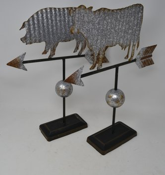Rustic Wind Vane Decor (2 Styles)