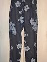 Floral Linen Pant - One Size