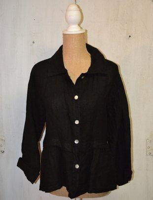 Crop Linen Jacket (2 Colors)