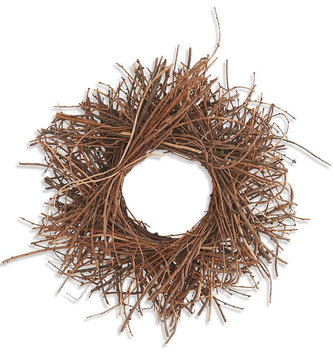 "12"" Twig Candle Ring"