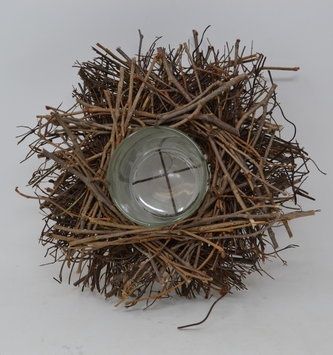 "9"" Twig Votive Candle Holder"