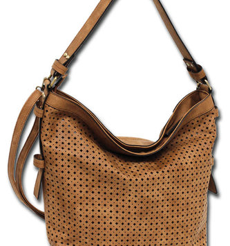 Cut-Out Pattern Hobo Bag (3 Colors)