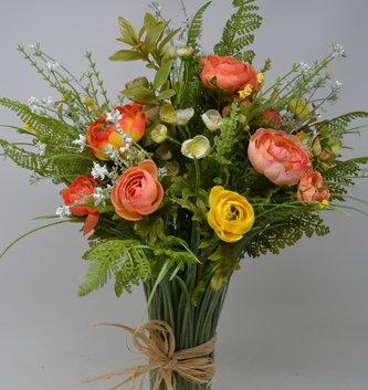 Custom Sunrise Grass Vase