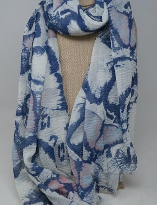 Butterfly Crinkle Scarf
