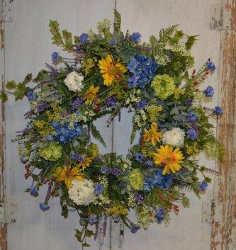 Custom Happy Summer Wreath