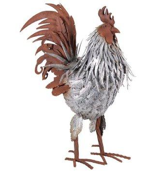 Textured Galvanized Rooster