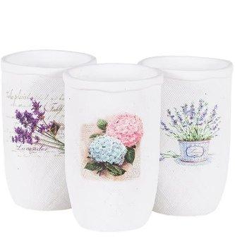Textured Floral Vase