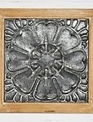 "16"" Square Tin Tile Wall Art"
