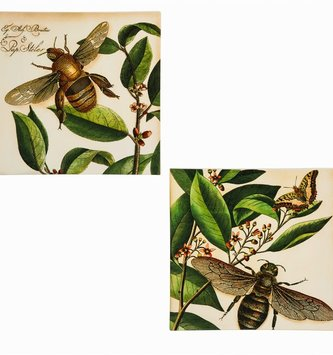 Decorative Bumblebee Tile