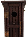 Outhouse Wooden Birdhouse