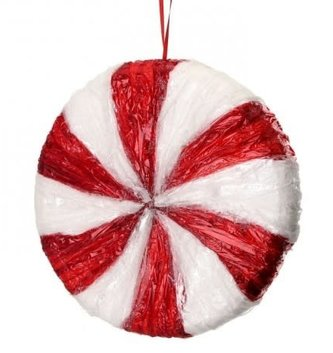 "9"" Peppermint Candy Ornament"
