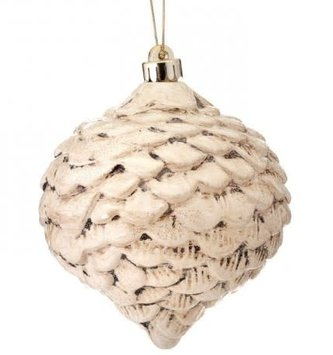 Antique Shimmer Pinecone Ornament