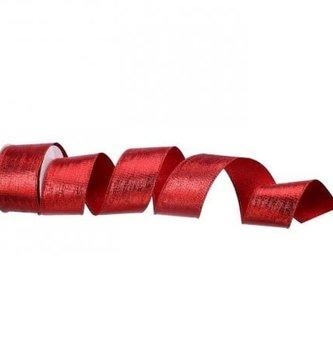 Red Metallic Lame' Ribbon