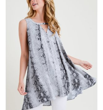 Snake Skin Swing Tunic (2 Colors)