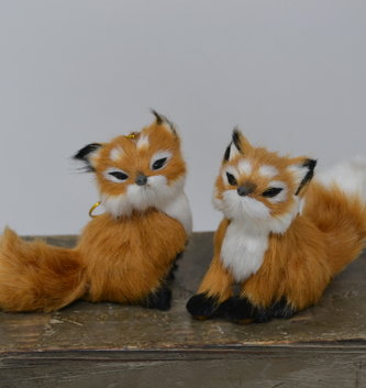 Furry Fox Ornament