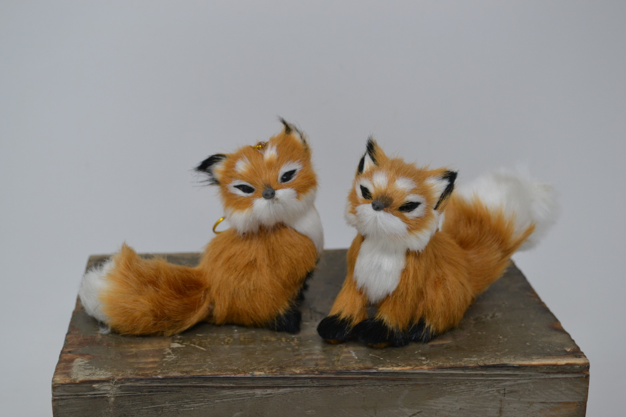 Furry Fox Ornament