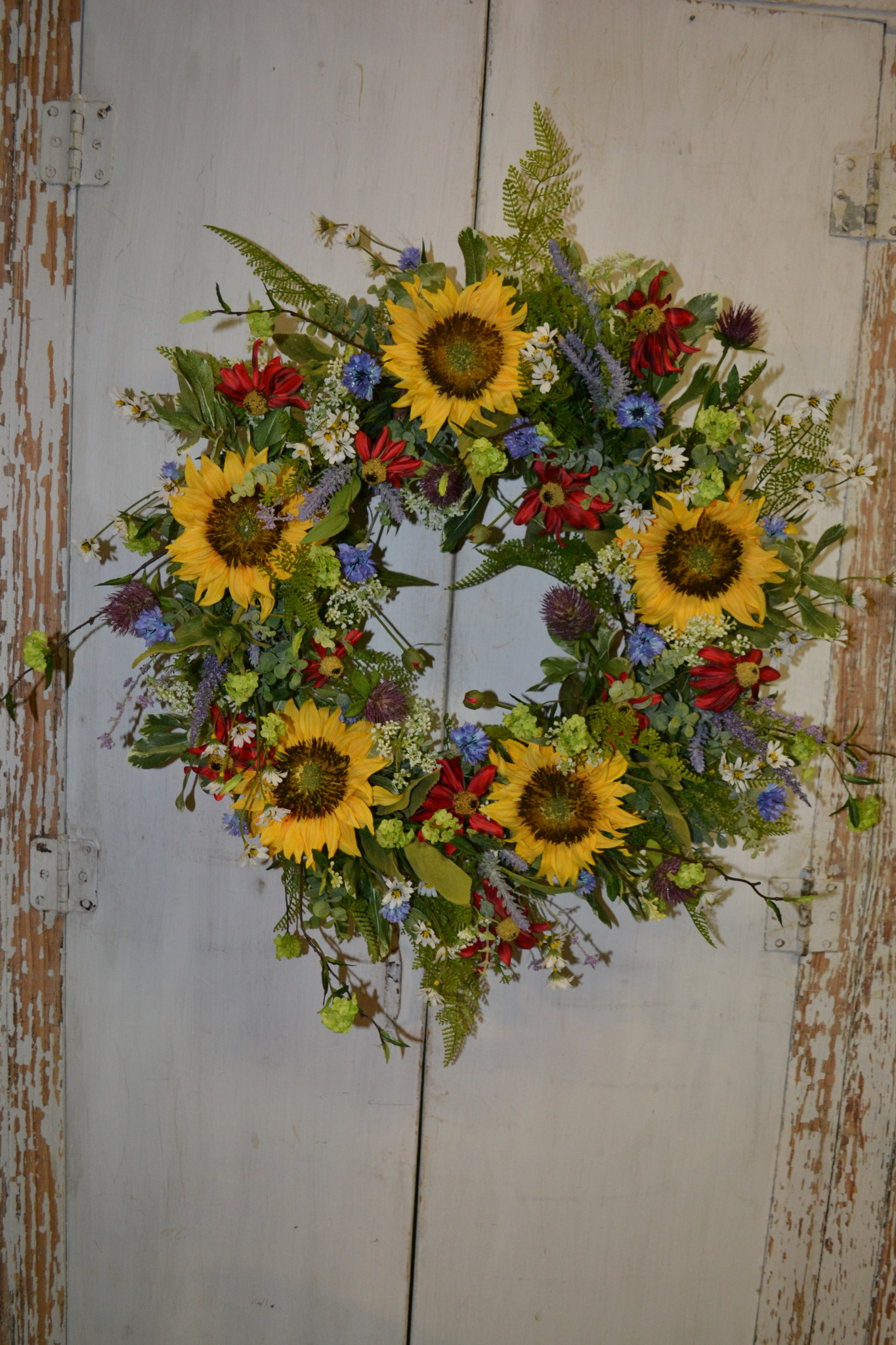 Sunny Days Custom Wreath