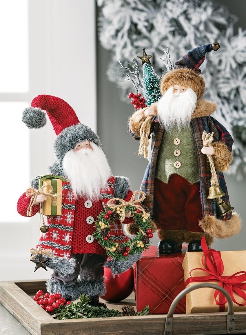 "12"" Tabletop Standing Santa"