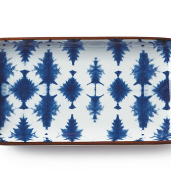 Indigo Ceramic Tray