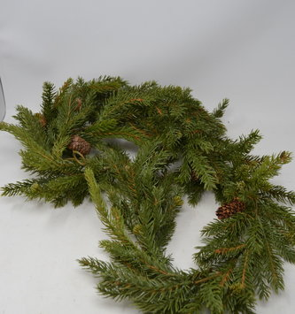 6-ft White Spruce Pine Garland