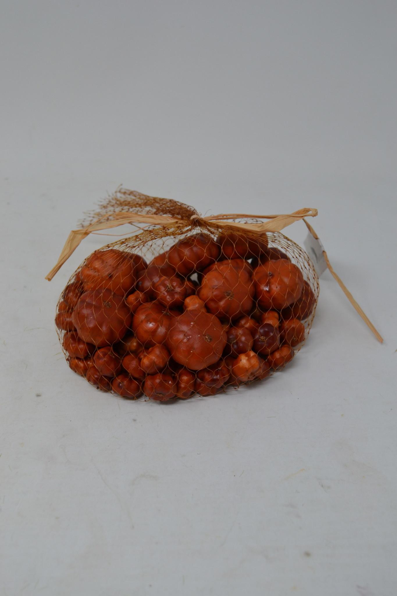 Bag of Mini Matte Pumpkins
