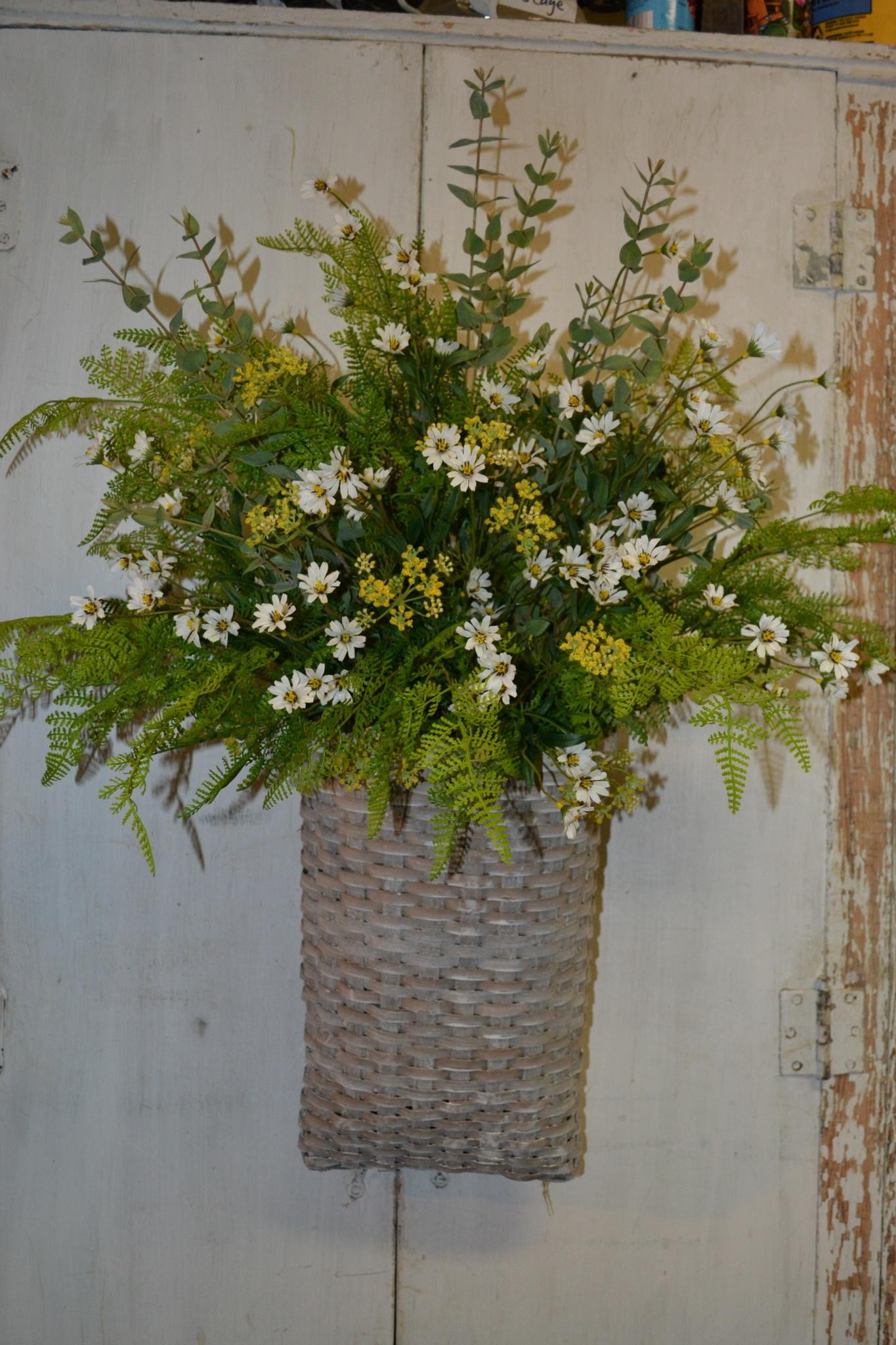 Custom Woven Basket Arrangement