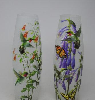 Tall Lighted Hummingbird Lamp (2 Styles)