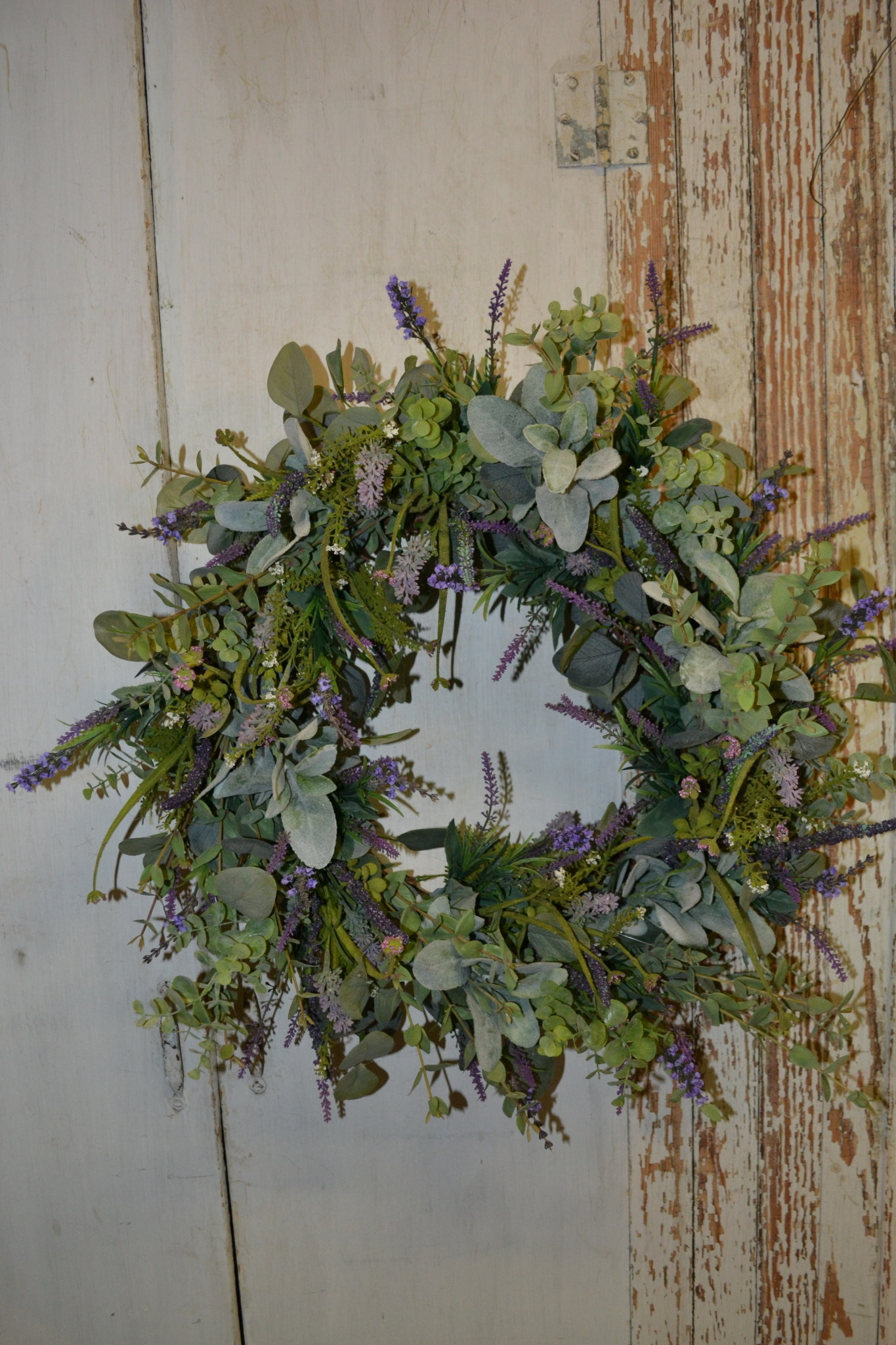 Lavender Eucalyptus Custom Wreath