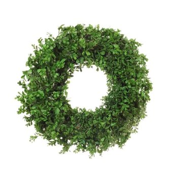 Soft Touch Boxwood Wreath