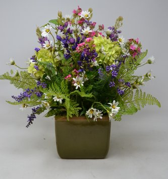 Custom Spring Garden Arrangement