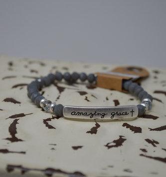 Amazing Grace Beaded Bracelet