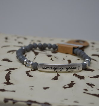 Amazing Grace Beaded Bracelet