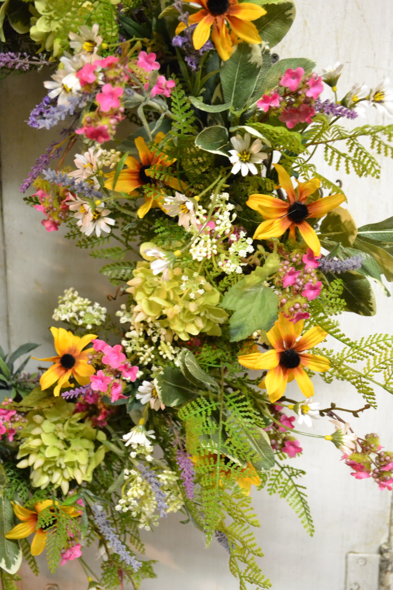 Flowering Fields Custom Wreath