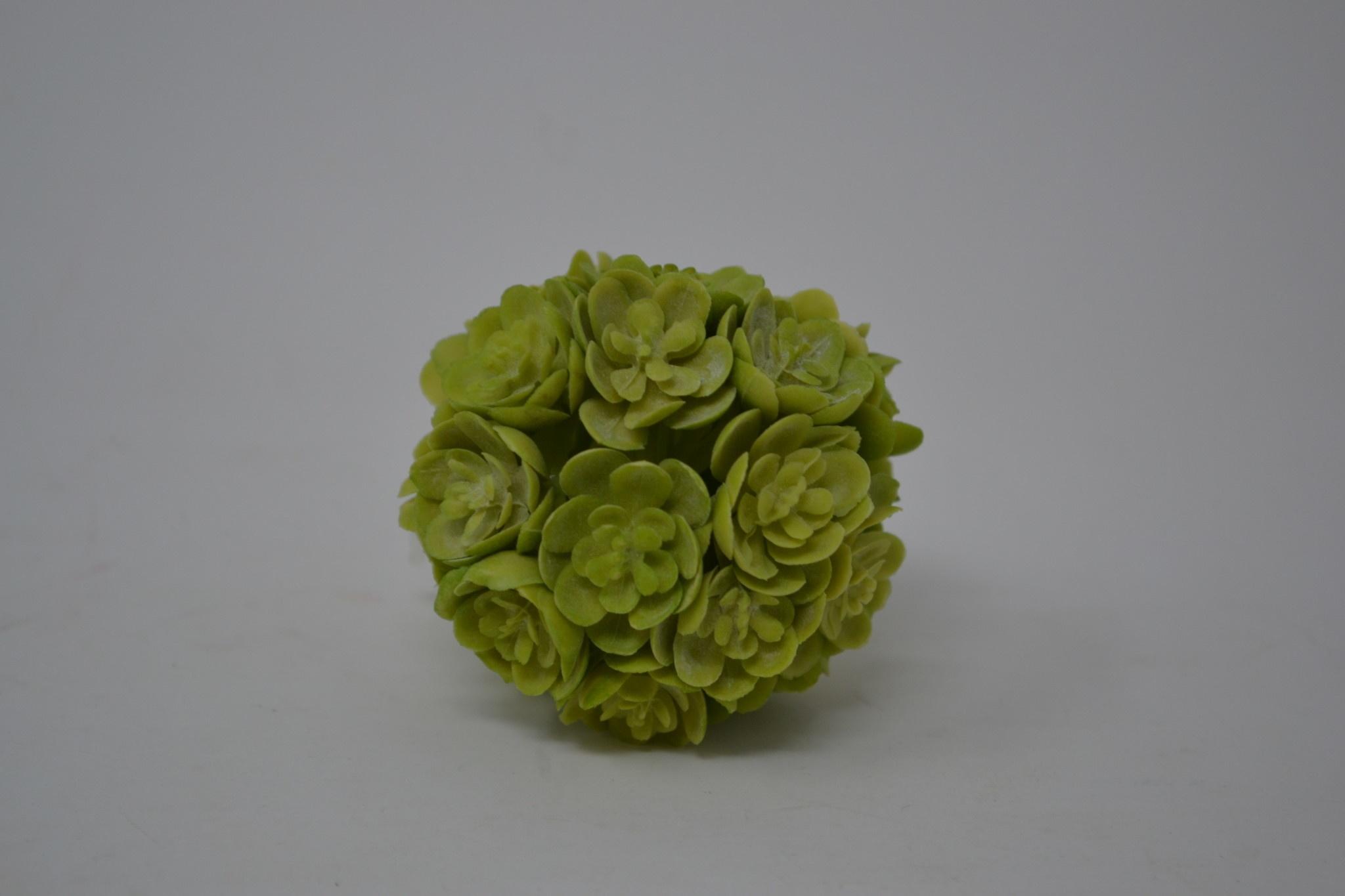 """2"""" Mini Green Echeveria Orb (2 Colors)"""