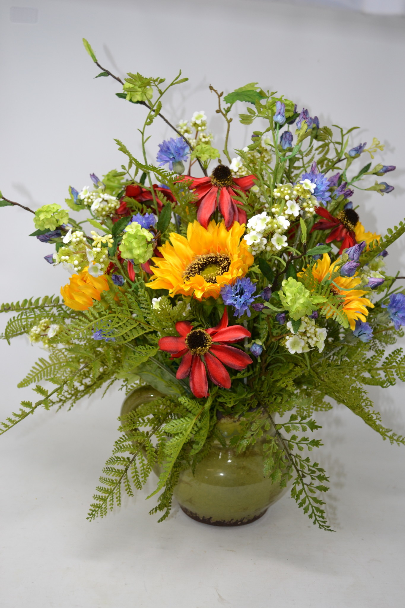 Custom Wild Sunflower Arrangement