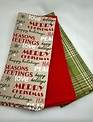 Set of 3 Cabin Christmas Towels