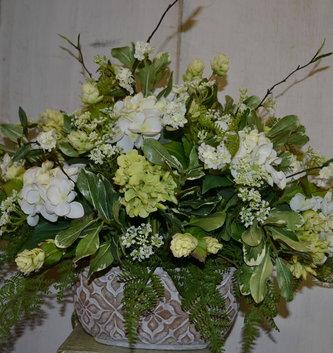 Custom Southern Hydrangea Arrangement