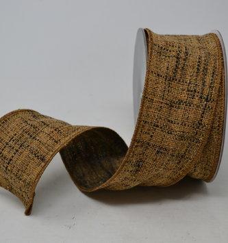 Brown Tweed Ribbon