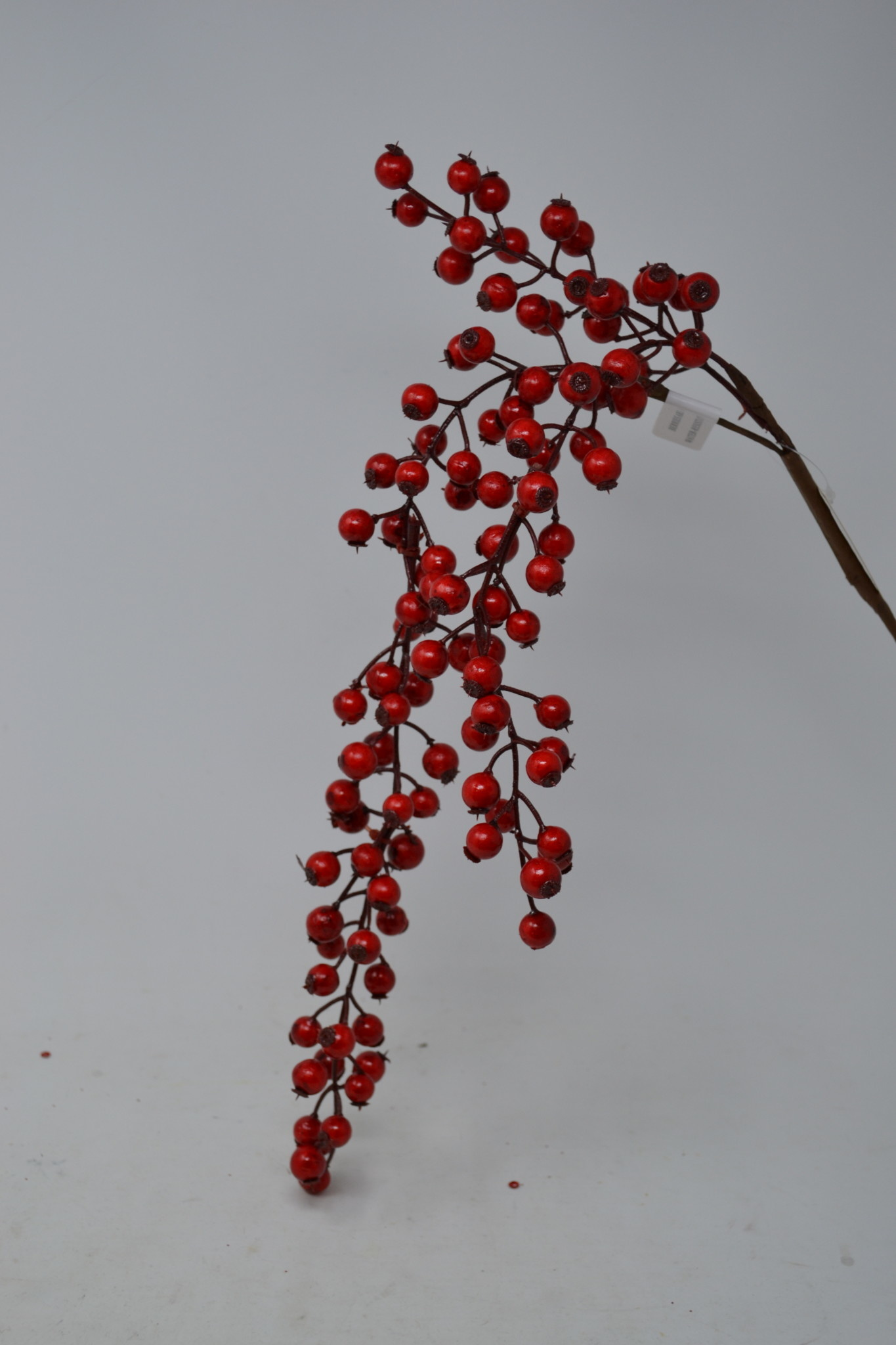 "30"" Hanging Red Berry Spray"
