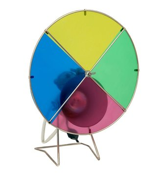 Retro Revolving Color Wheel Light