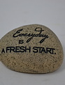 Mini Speckled Message Stone (8 Styles)