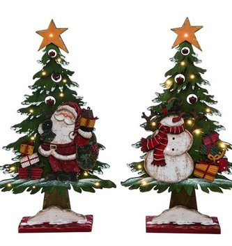 Wooden Light Up Tree (2 Styles)
