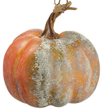 Small Orange Green Pumpkin