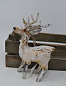 Frosted Reindeer Ornament (2 Styles)