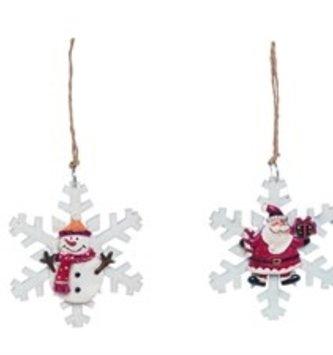 Mini Snowflake Ornament (2 Styles)