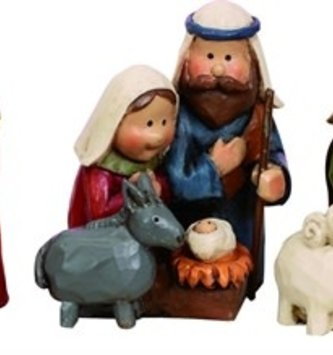 Mini Holy Family (3 Styles)