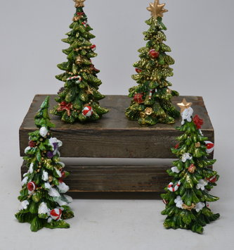 Small Shimmer Christmas Tree (4 Styles)